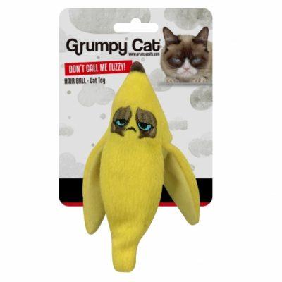 Grumpy Cat Banana Peel Crinkle Cat