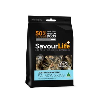 Savour Life Salmon Skins 125g
