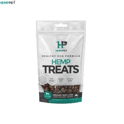 Hemp Treats – Organic Beef Liver for Dogs 80g