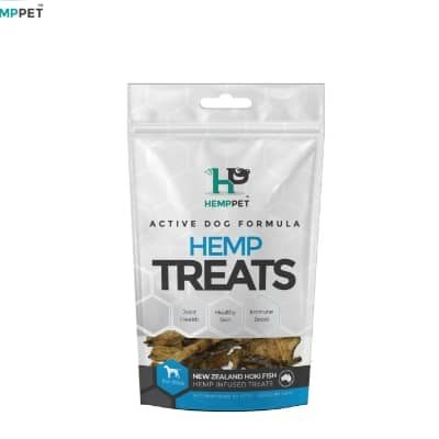 Hemp Treats – New Zealand Hoki Fish for Dogs 70g