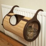 Rosewood Bamboo Cat  Radiator Bed