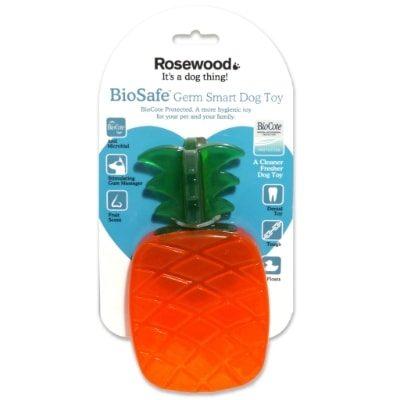 Rosewood Biosafe Pineapple Dog Toy