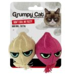 Grumpy Cat Onion Ball Cat Toy 2Pk