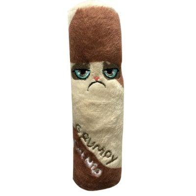 Grumpy Catnip Chew Toy Case
