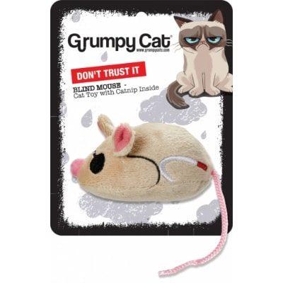 Grumpy Cat Blind Mouse