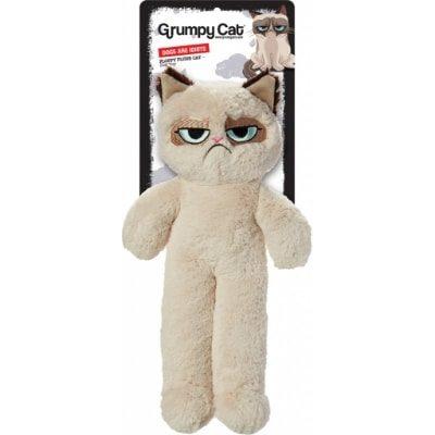 Grumpy Cat Floppy Plush Cat Dog Toy