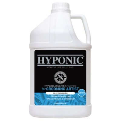 Hyponic Grooming Artist Shampoo – Dogs Deep Cleansing 3.8L