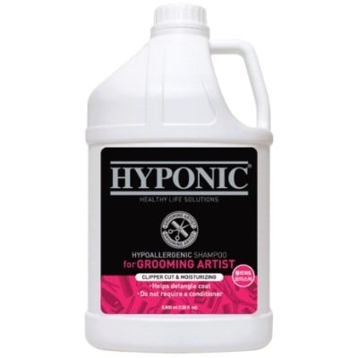 Hyponic Grooming Artist Shampoo – Dogs Moisturizing 3.8L