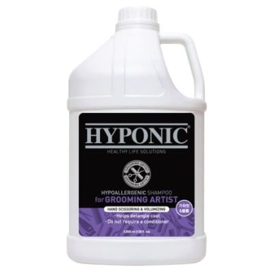 Hyponic Grooming Artist Shampoo – Dogs Volumizing 3.8L