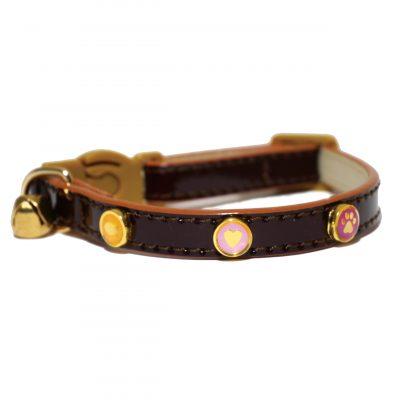 Rosewood Oxblood Cat Collar