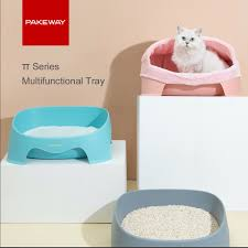 Pakeway® Cat Toilet Tray & Cattery