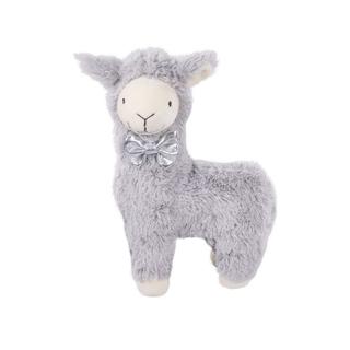 Grey Plush Llama