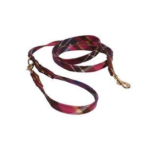 Rosewood Toy Dog Pink / Purple Tweed Lead