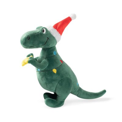 Fringe Studio Holiday Tree Rex Plush Dog Toy