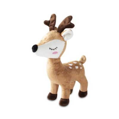 Fringe Studio Deer with Antlers Plush Dog Toy