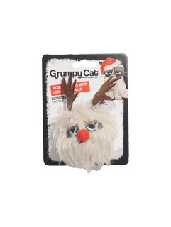 Grumpy Cat Grumpy Reindeer Ball
