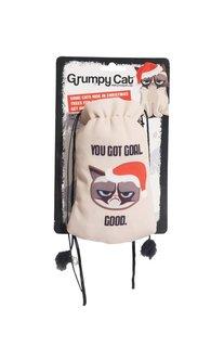 Grumpy Cat Catnip Coal Sack