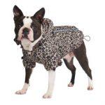 Urban Pup's Leopard Print Rainstorm Rain Coat