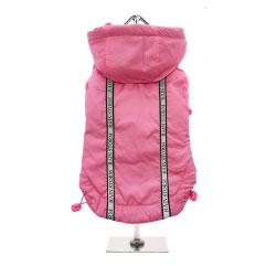 Urban Pup's Pink Rainstorm Rain Coat